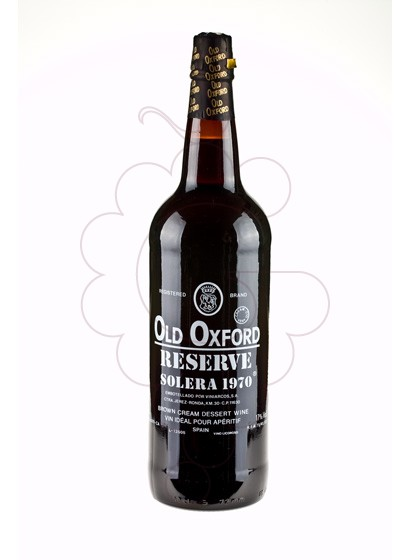 Photo Aperitif wine Old Oxford Reserva