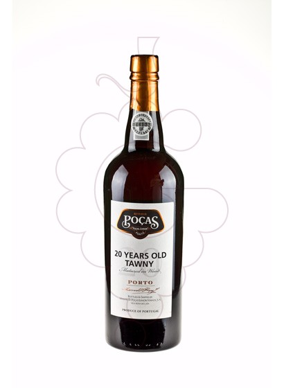 Photo Oporto Poças 20 Years fortified wine