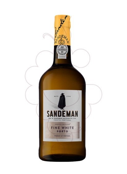 Photo Fine White Sandeman fortified wine