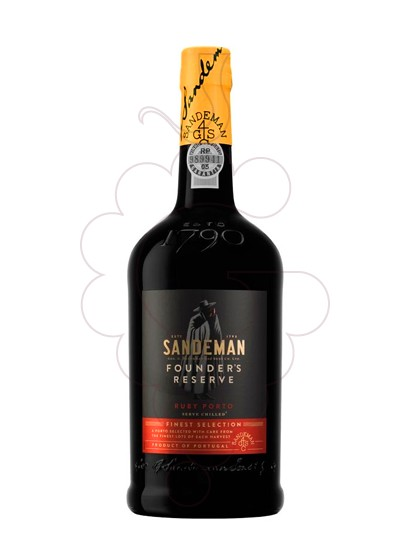Photo Sandeman Founder's Reserva fortified wine