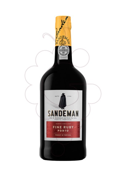 Photo Sandeman Ruby fortified wine