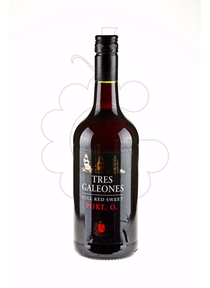 Photo Aperitif wine Tres Galeones Red