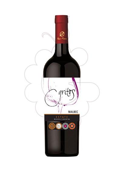 Photo Otero Ramos Gritos Malbec red wine