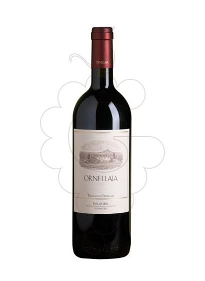 Photo Ornellaia red wine
