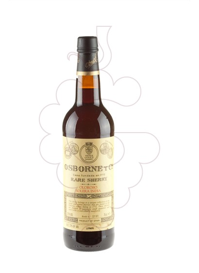 Photo Osborne Solera India fortified wine