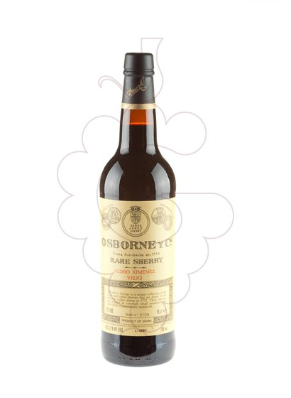 Photo Osborne Pedro Ximenez Viejo 30 Years fortified wine
