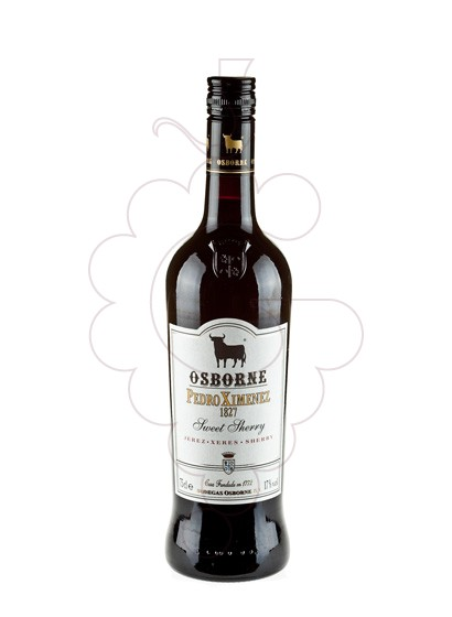 Photo Osborne Pedro Ximenez fortified wine