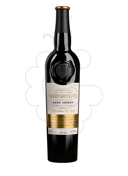 Photo Osborne Solera BC 200 fortified wine