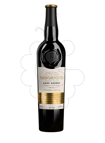 Photo Osborne Solera India  fortified wine