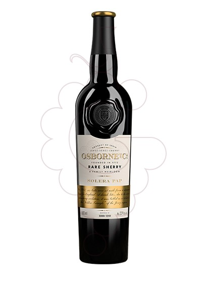 Photo Osborne Solera PAP  fortified wine