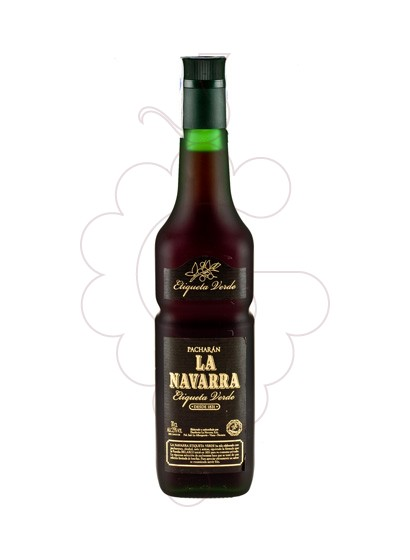 Photo Liqueur Pacharan la Navarra Et. Ver