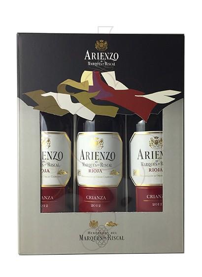 Photo Gift boxes Arienzo de Riscal Crianza Pack (3 u)