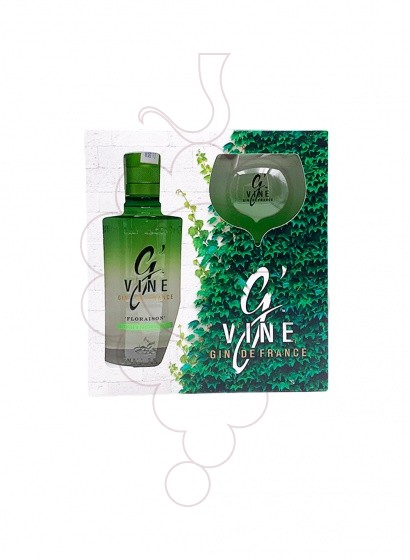 Photo Gin G' Vine Floraison Pack 1 u + glass