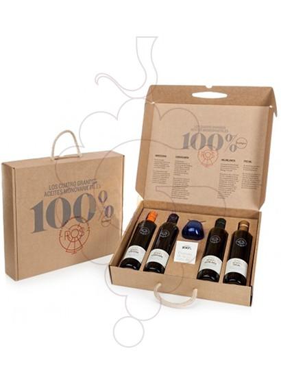 Photo Gift boxes Ros Oil Pack Varietal Tasting Olives 4 u