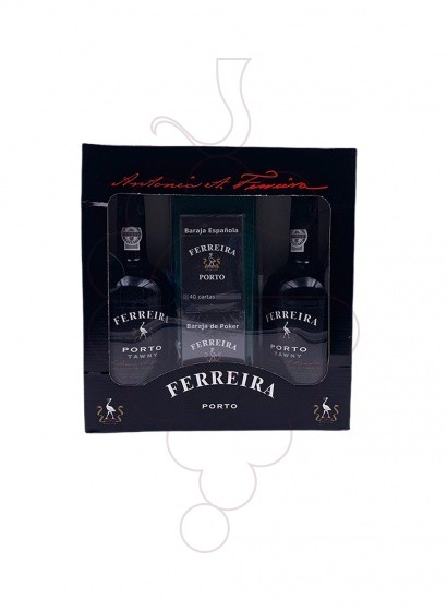 Photo Ferreira Pack 2 u + Deck of Cards fortified wine