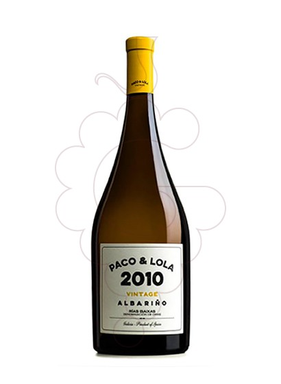Photo Albariño Paco & Lola Vintage Magnum white wine