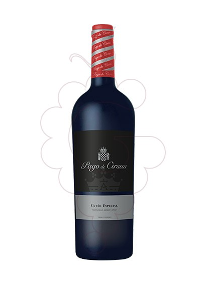 Photo Pago de Cirsus Cuvee Especial red wine