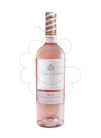 Photo Pago de Cirsus Rose Gran Cuvee Especial red wine