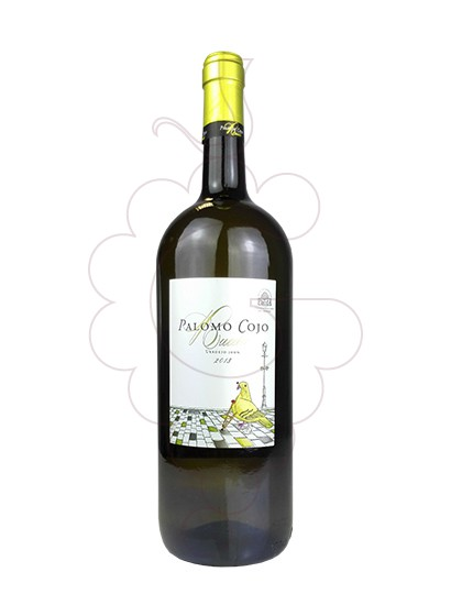 Photo Palomo Cojo Verdejo Magnum white wine