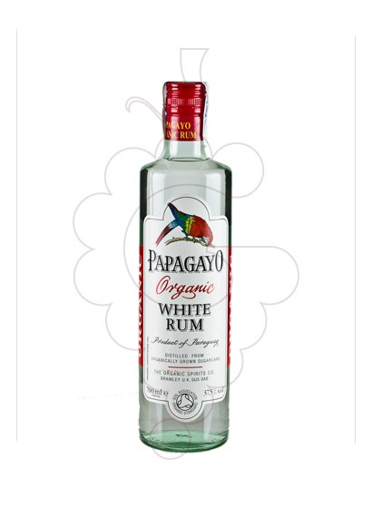Photo Rum Papagayo Organic White