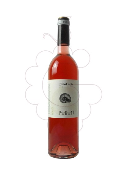 Photo Parató Pinot Noir Rose rosé wine
