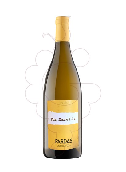 Photo Pardas Pur Xarel·lo white wine