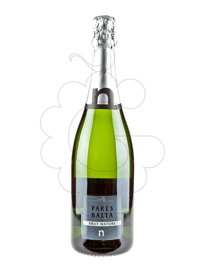 Photo Pares Balta Brut Nature sparkling wine