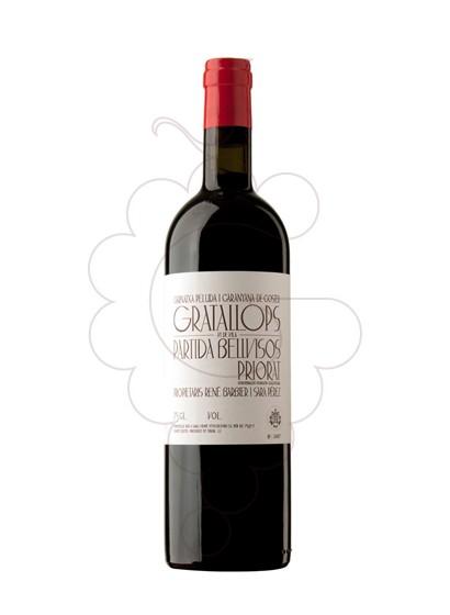 Photo Red Gratallops Partida Bellvisos red wine