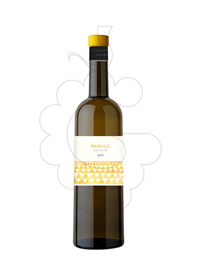 Photo Parvus Blanc Chardonnay white wine