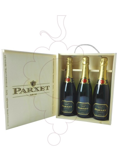Photo Gift boxes Parxet Brut Nature Pack (3 u)