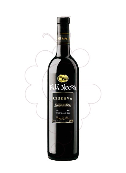 Photo Pata Negra Reserva red wine