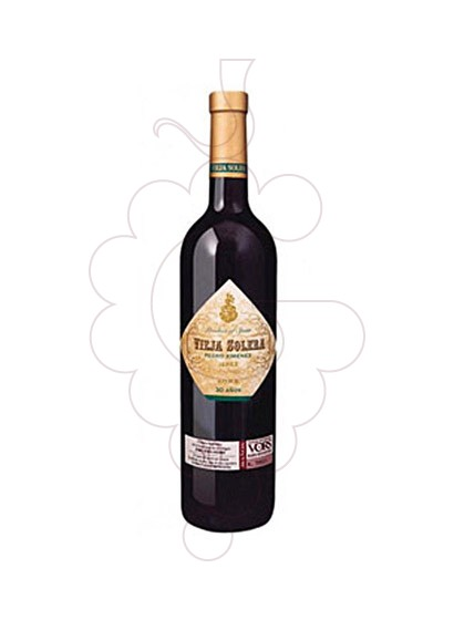 Photo Paternina Vieja Solera  PX VORS fortified wine