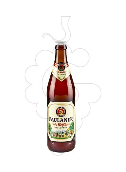 Photo Beer Paulaner ampolla
