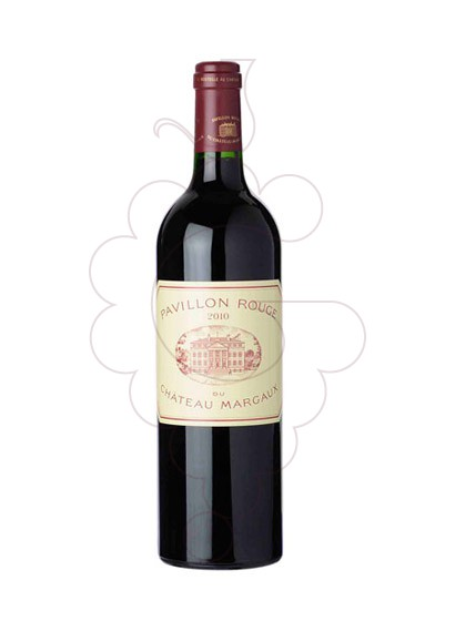 Photo Pavillon Rouge de Margaux red wine