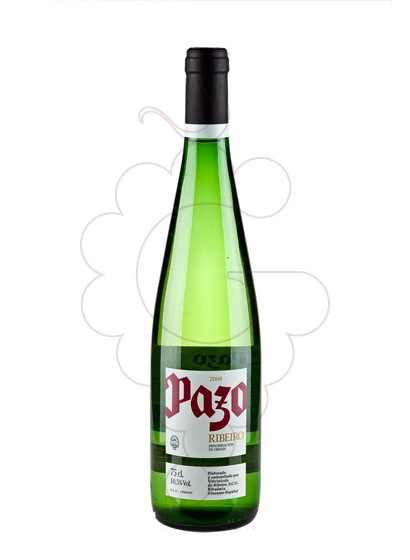 Photo Pazo Ribeiro Blanc white wine