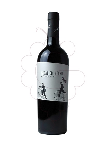 Photo Pedalier red wine