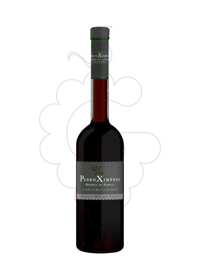Photo Pedro Ximenez Reserva Familiar fortified wine