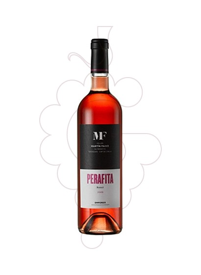 Photo Perafita Rosat  rosé wine