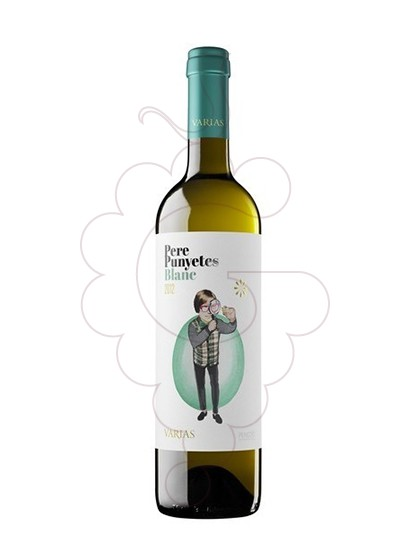Photo White Pere Punyetes white wine