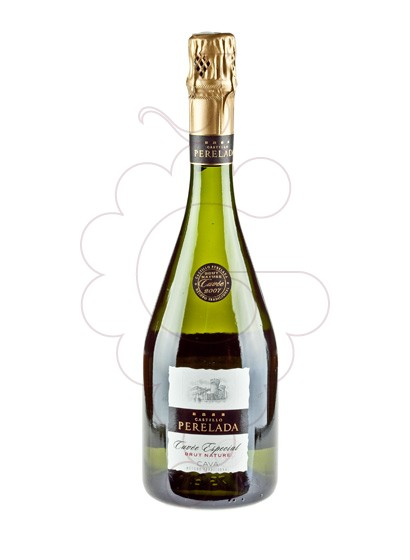 Photo Perelada Brut Nature Cuvee Especial sparkling wine