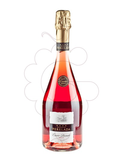 Photo Perelada Cuvee Rosat Brut sparkling wine