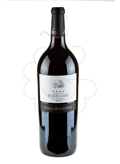 Photo Perelada Finca Malaveina Magnum red wine