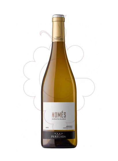 Photo White Perelada Només white wine