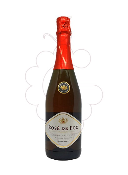 Photo Perelada Rose de foc sparkling wine