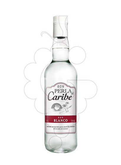 Photo Rum Perla del Caribe Blanco