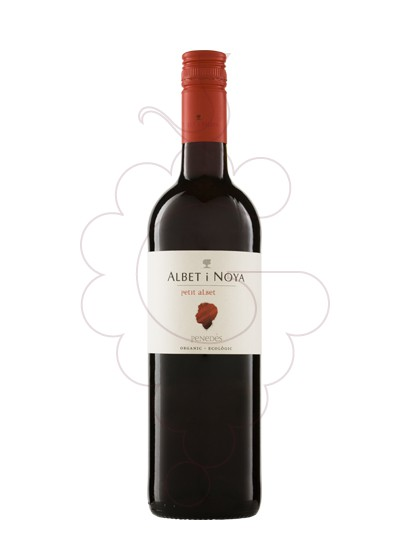Photo Petit Albet Negre red wine