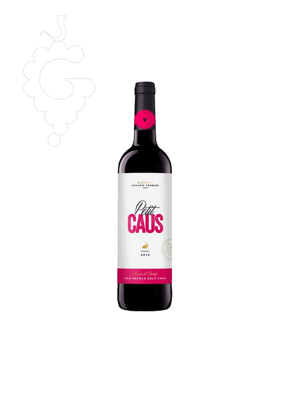 Photo Petit Caus Negre Collita red wine