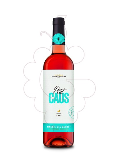 Photo Petit Caus Rosat rosé wine