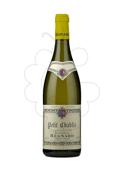 Photo Petit Chablis Regnard white wine