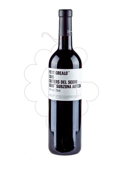 Photo Petit Grealo Negre red wine